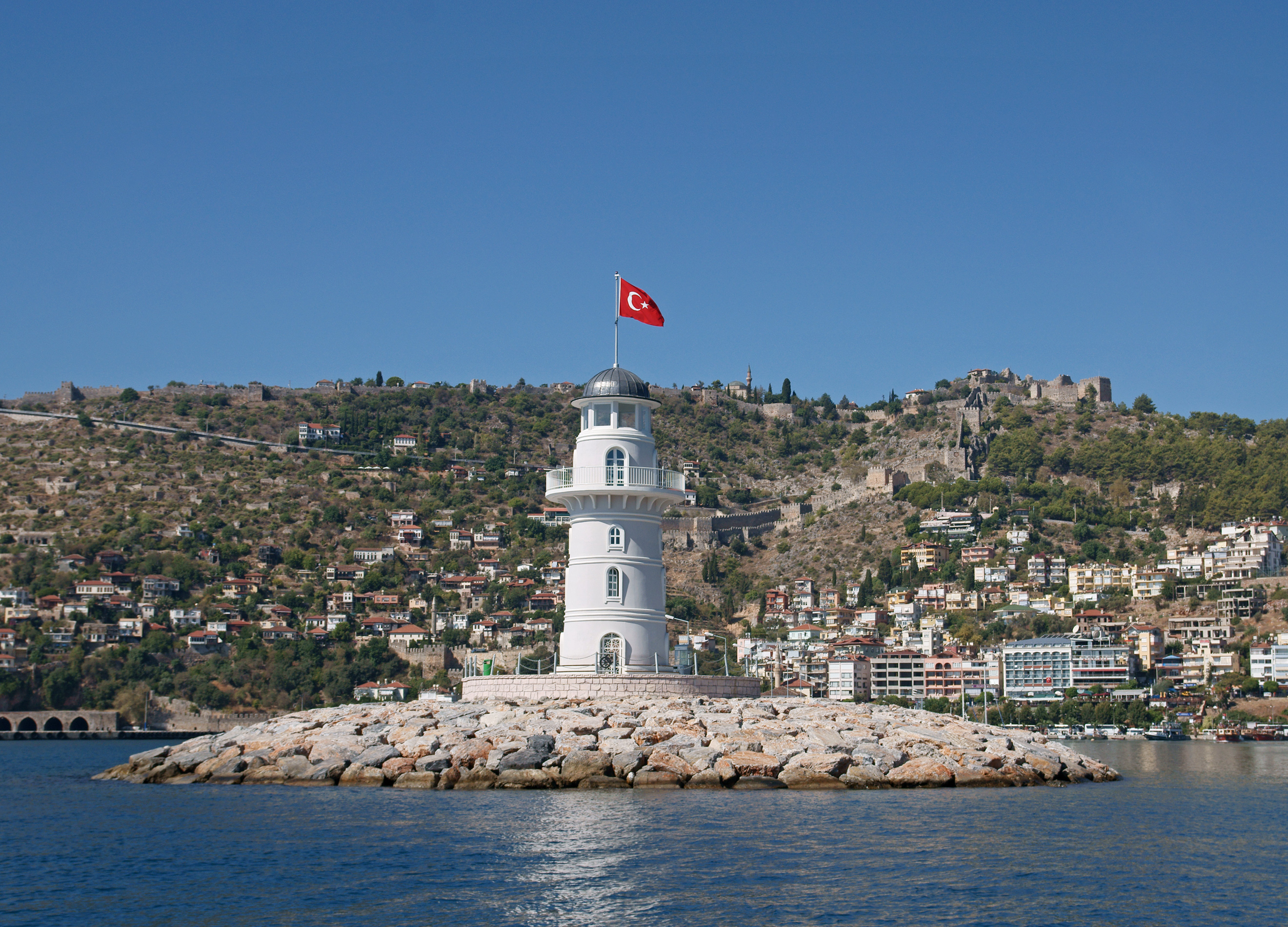 Alanya lighthouse 3