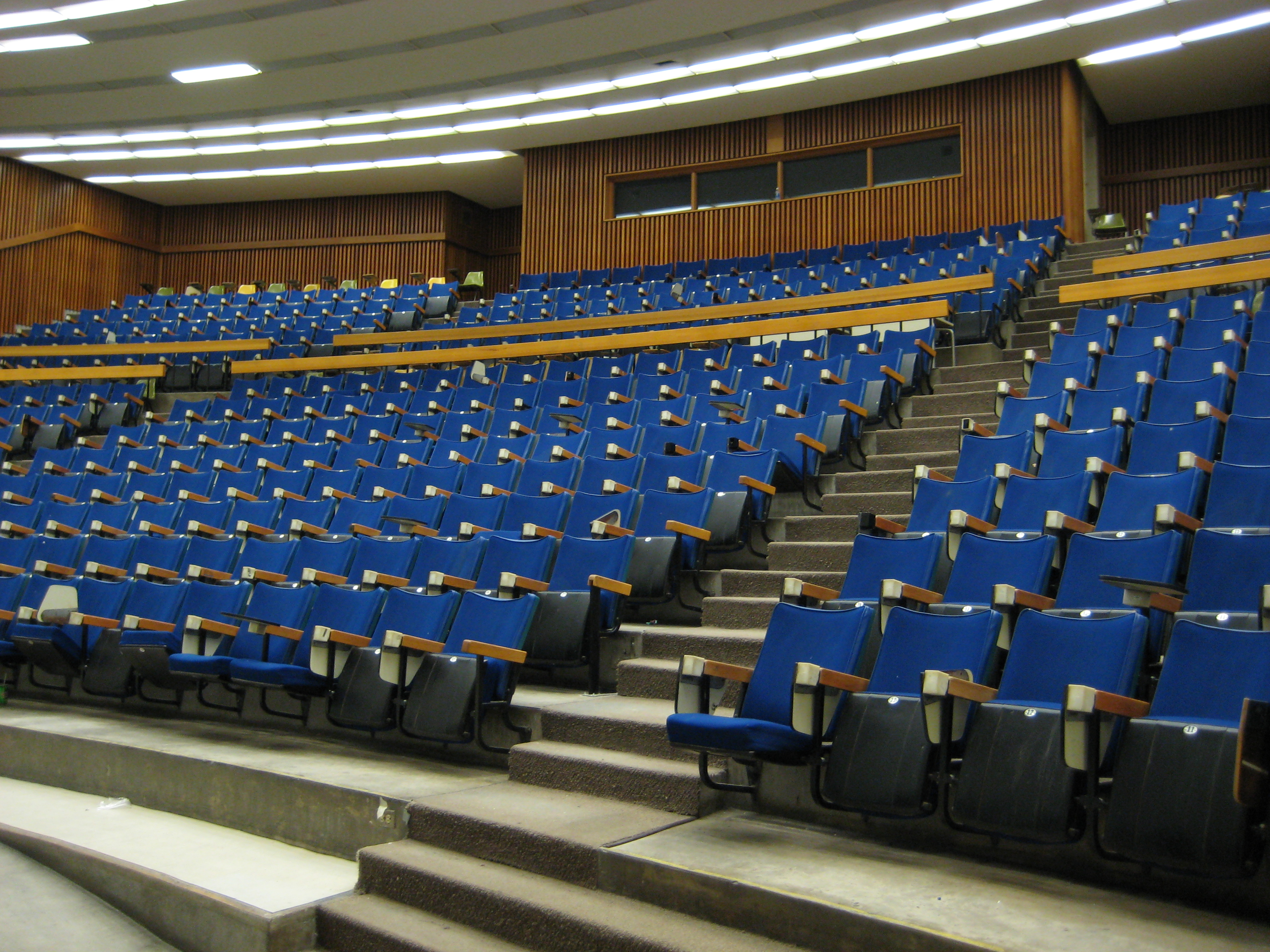 Curtis Lecture Halls interior view1 empty class