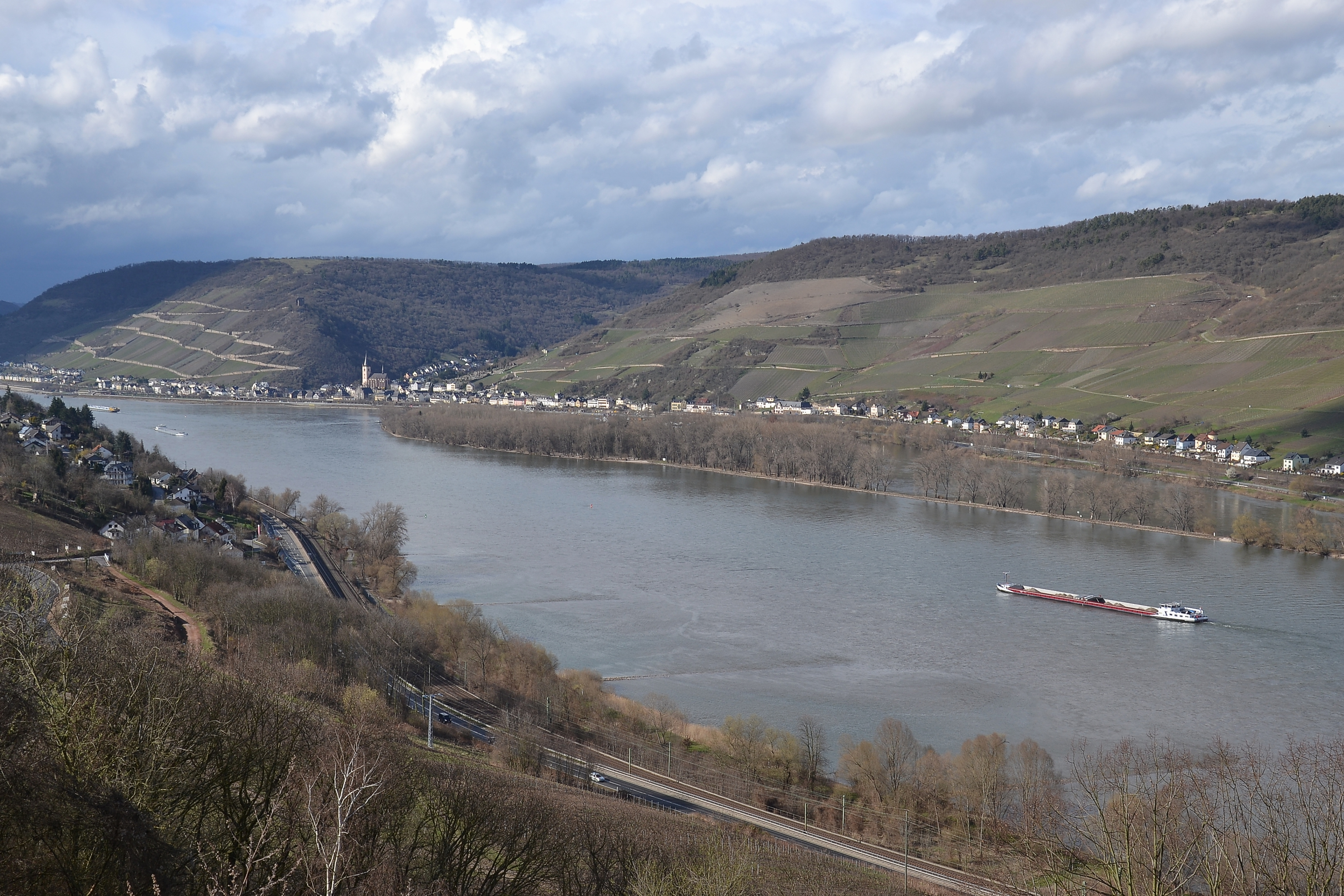 Middle Rhine - view from Burg Sooneck
