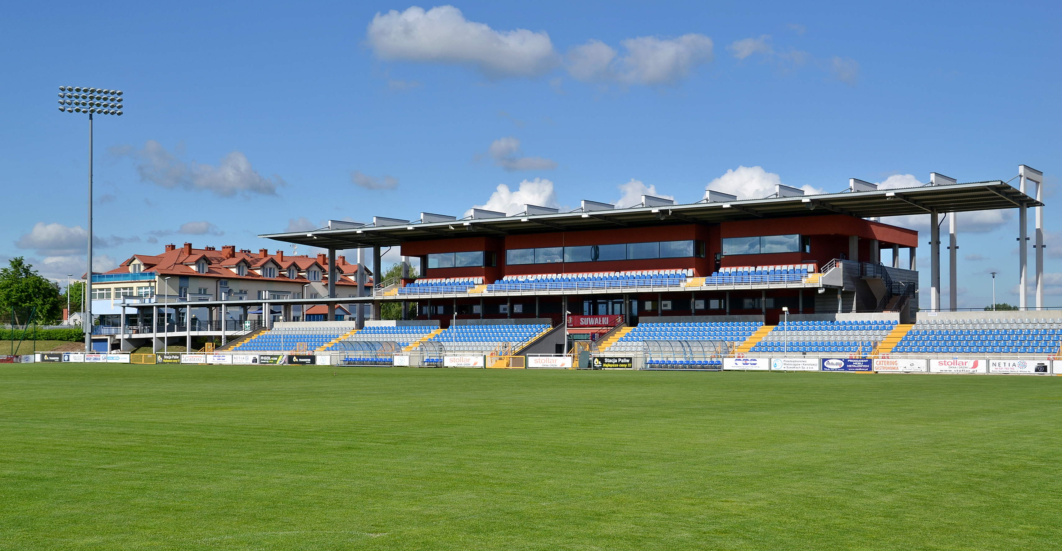 Municipal Stadium, Suwałki (by Pudelek) 01
