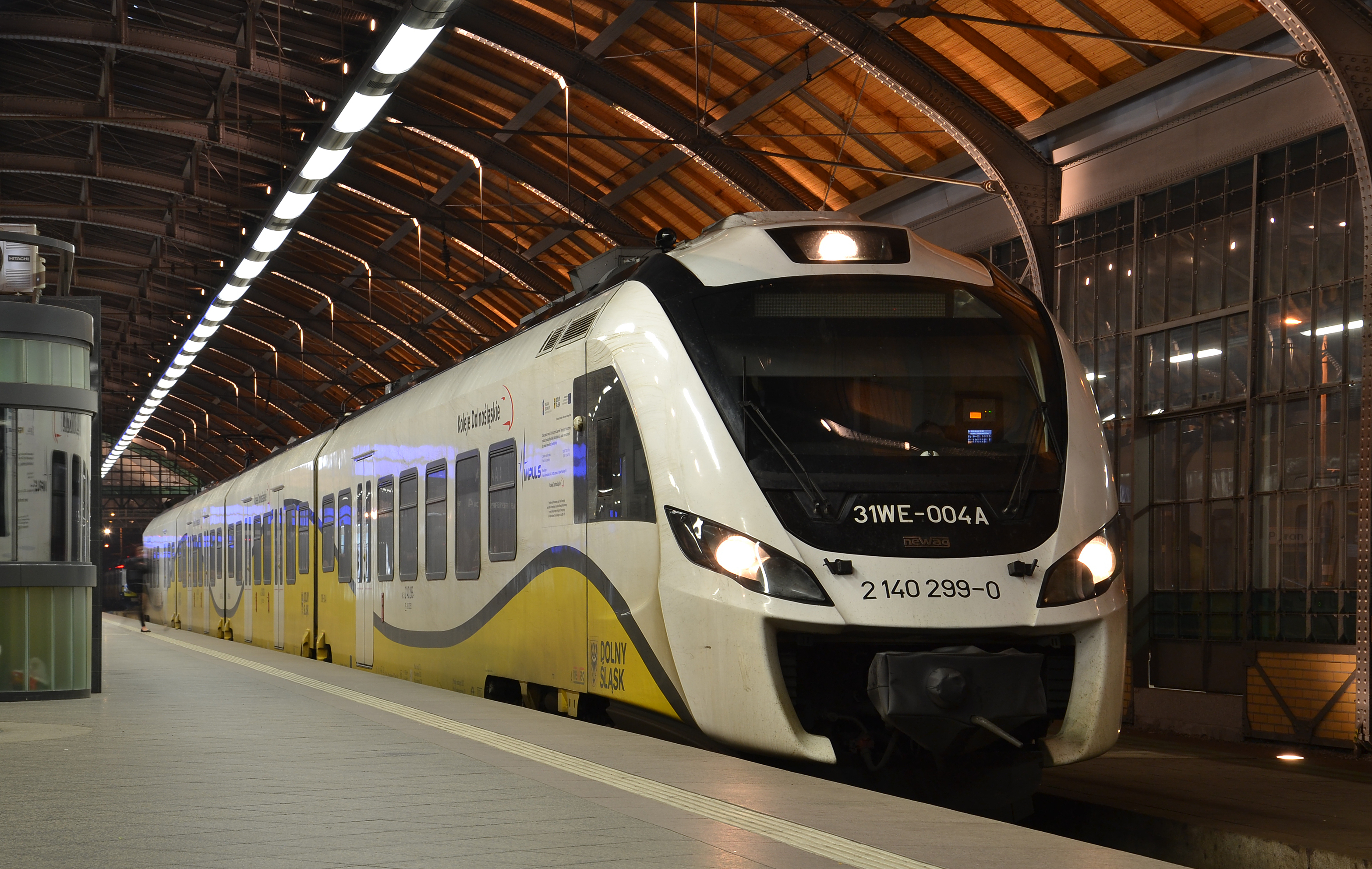 Newag Impuls (31WE-004A) - Wrocław (Breslau)