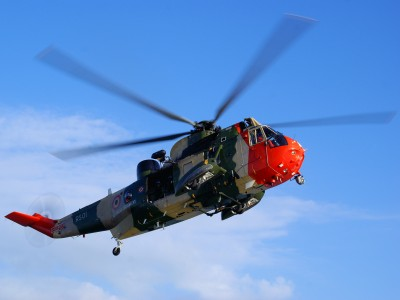 Belgian Air Force Sea King RS01