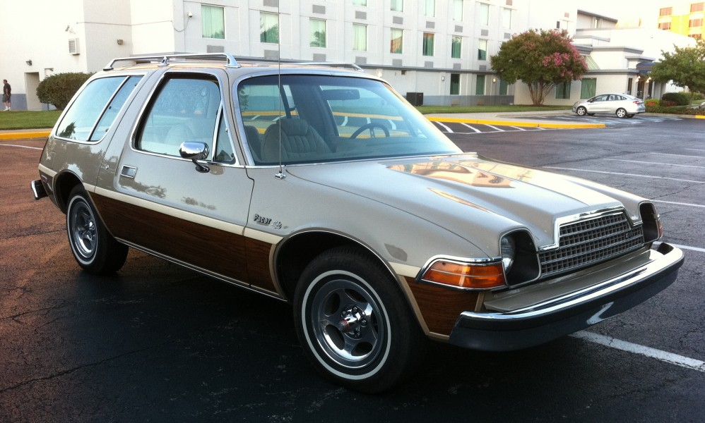 1978 AMC Pacer DL station wagon beige with woodgrain MD-rf
