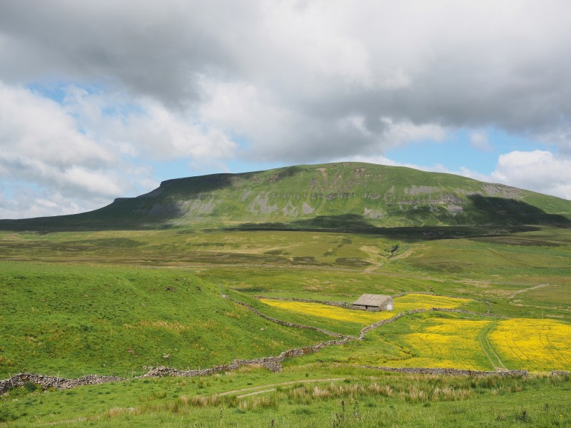 2014 Pen-y-ghent from East
