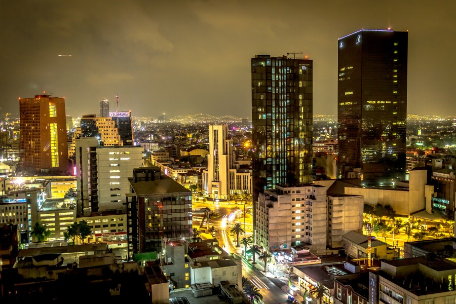 20150716 Mexico City at Night IMG 6614 by sebaso