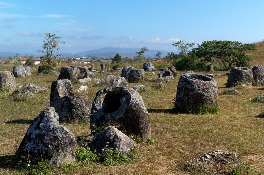 20171115 Plain of Jars - archaeological site number 1 - Laos - 2538 DxO