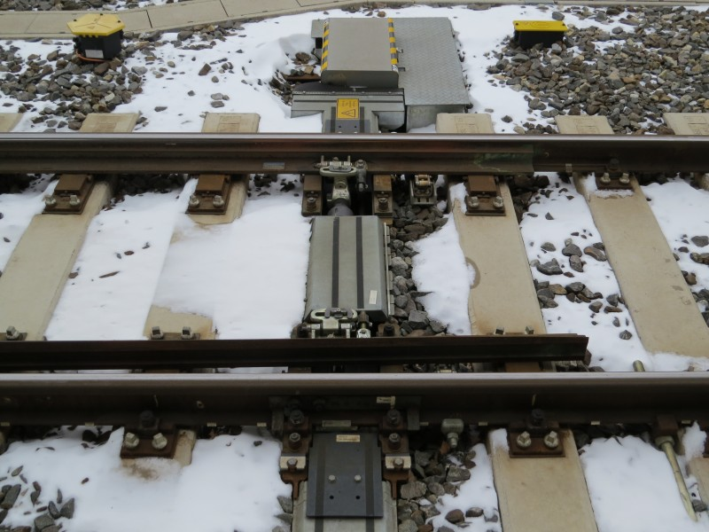2018-03-19 (416) Railway point at Bahnhof Amstetten
