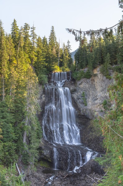 Alexander Falls near Whistler, British Columbia