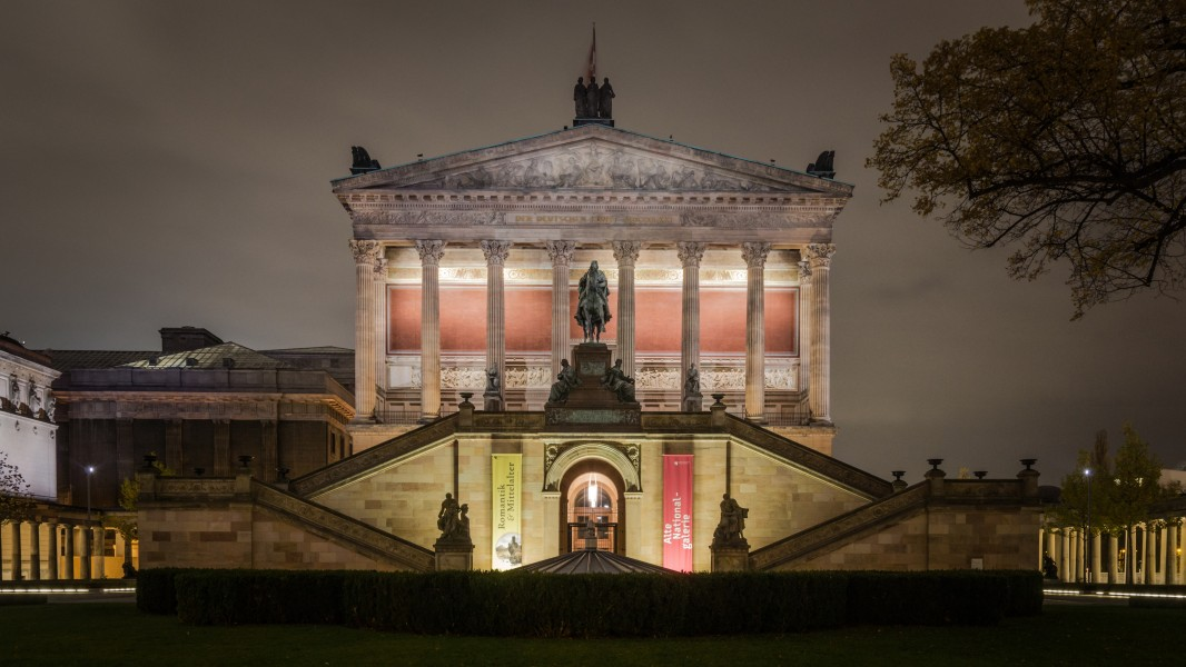 Alte Nationalgalerie at night (MK)