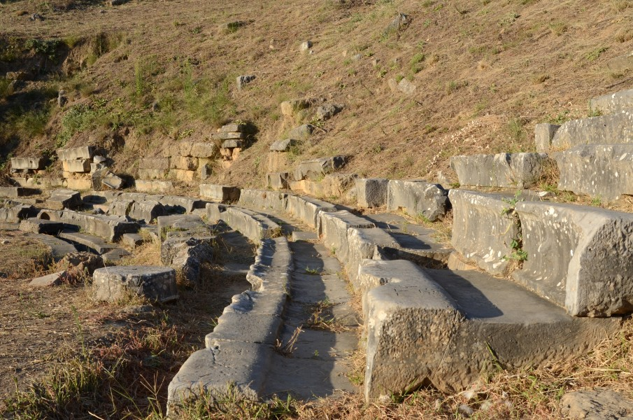 Ancient Sparta theatre seats