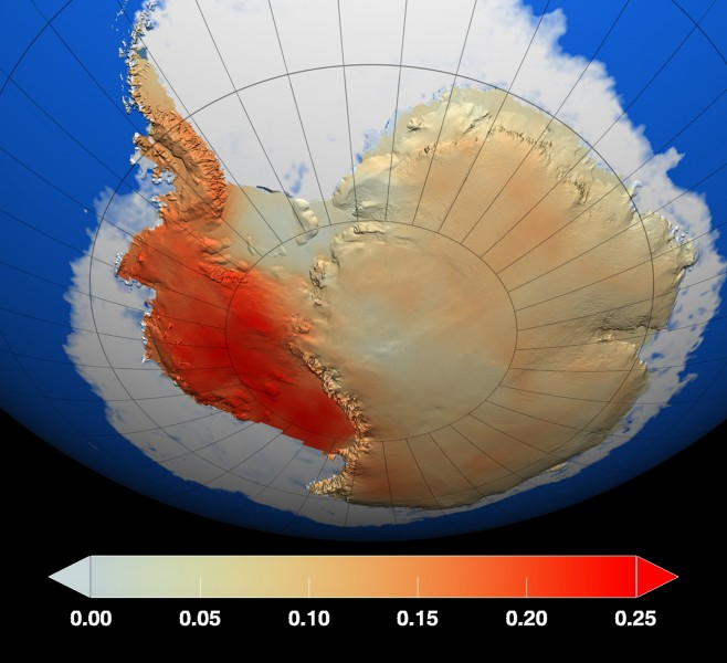 Antarctic surface trends