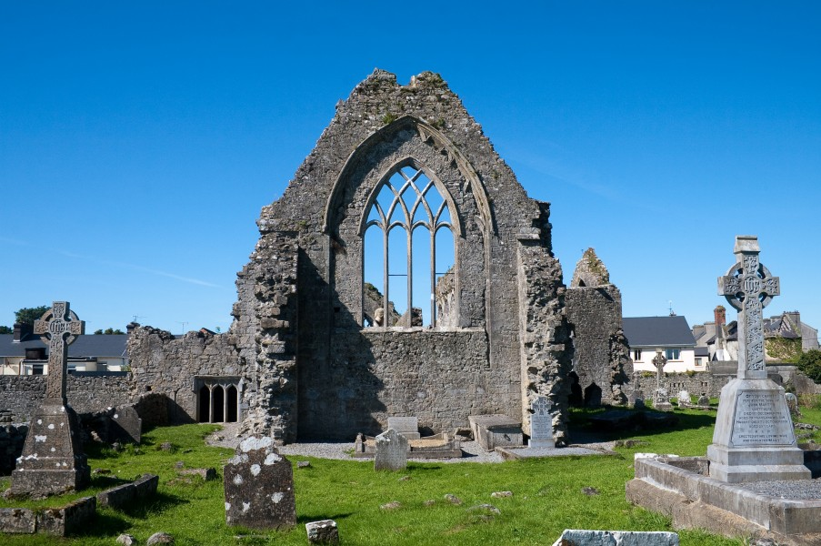 Athenry Priory East Window 2009 09 13