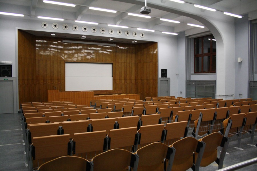 Aula of Faculty of Agronomy at MENDELU in Brno