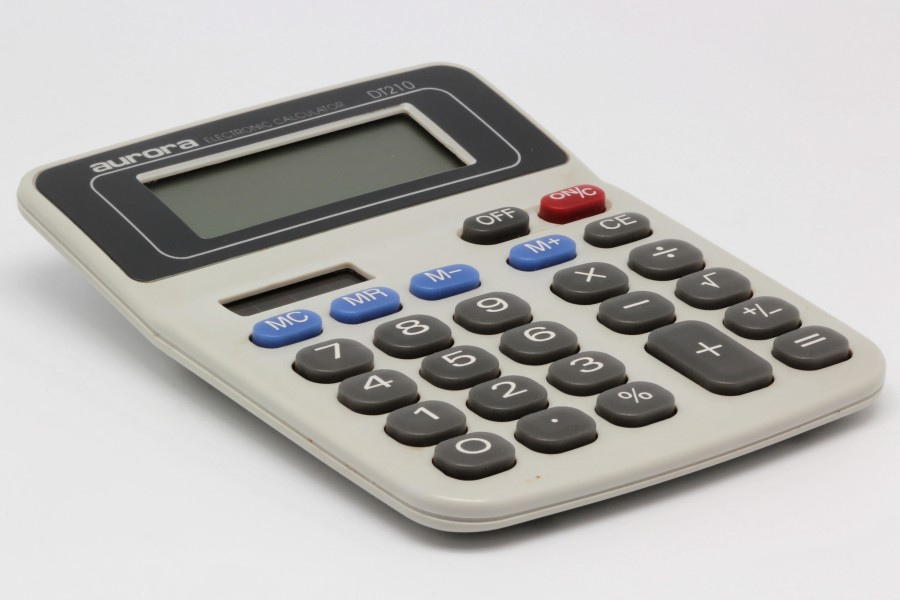 Aurora electronic calculator DT210 02