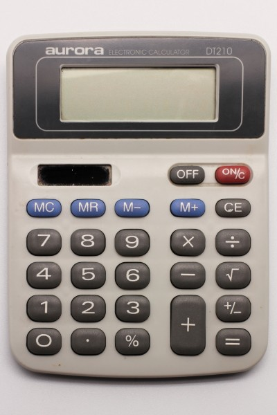 Aurora electronic calculator DT210 04