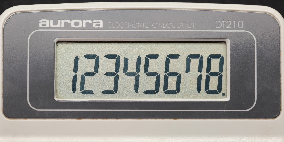 Aurora electronic calculator DT210 10