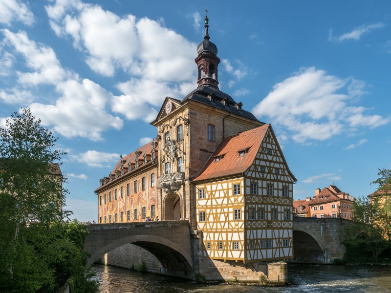 Bamberg Altes Rathaus 17RM1565-PSD