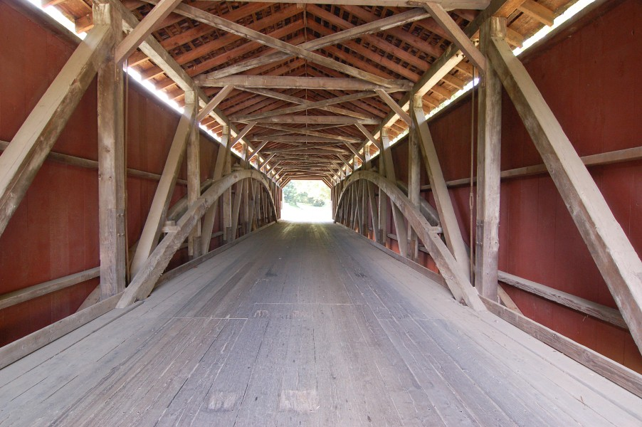 Baumgardener's Covered Bridge Inside Center 3008px