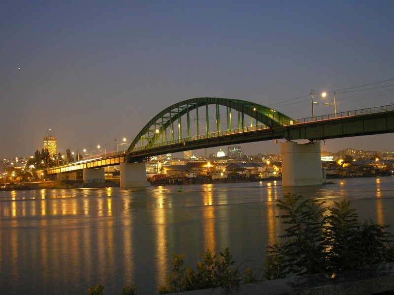 Belgrade - Old Sava bridge, 08.10.2010
