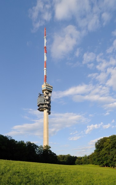 Bettingen - Fernsehturm St. Chrischona2