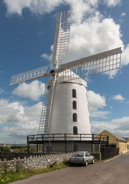 Blennerville Windmill, Southwest view 20150803 1