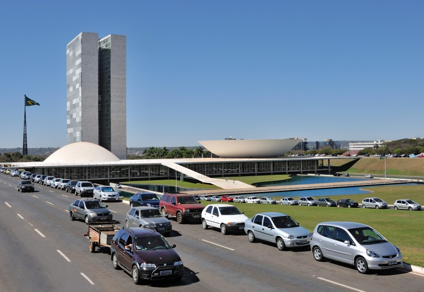 Brasilia National Congress Buildings