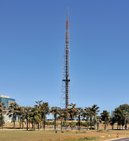 Brasilia TV Tower from West 2009