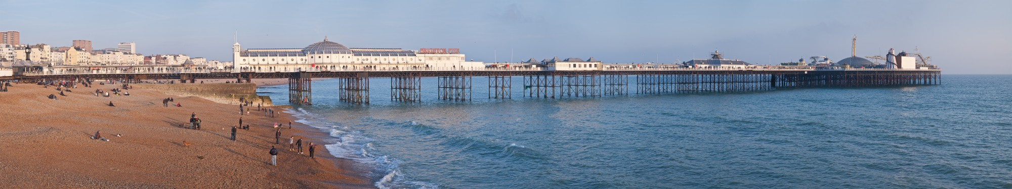 Brighton Pier, England - Feb 2009