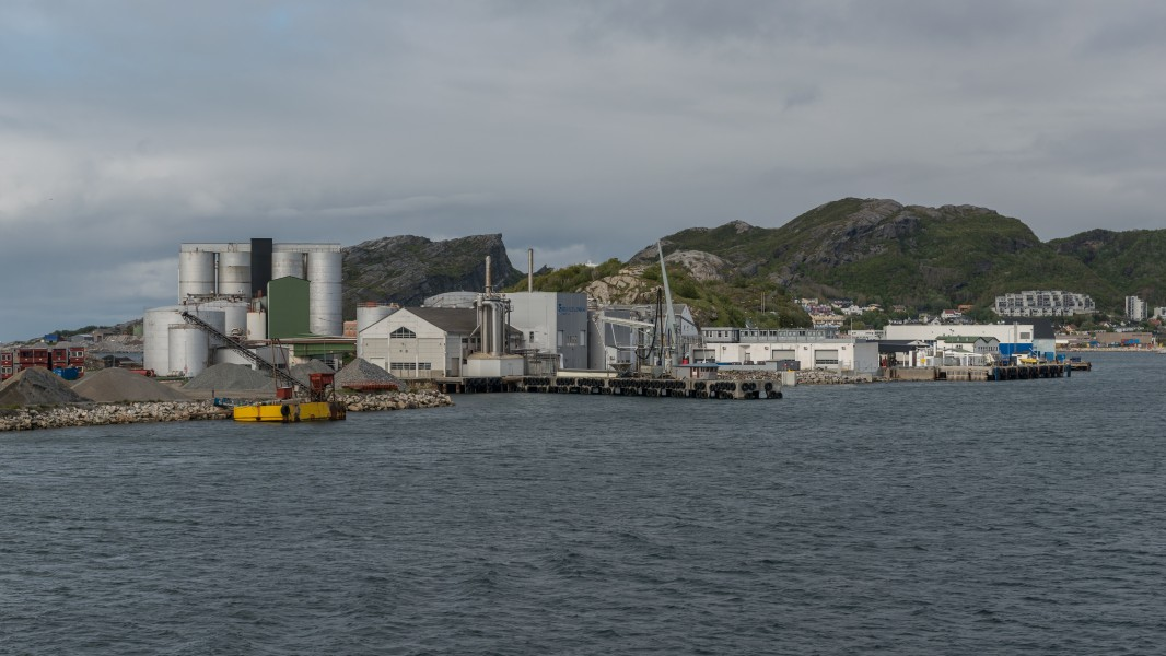 Buildings at Nyholmen, Bodø 20150608 1