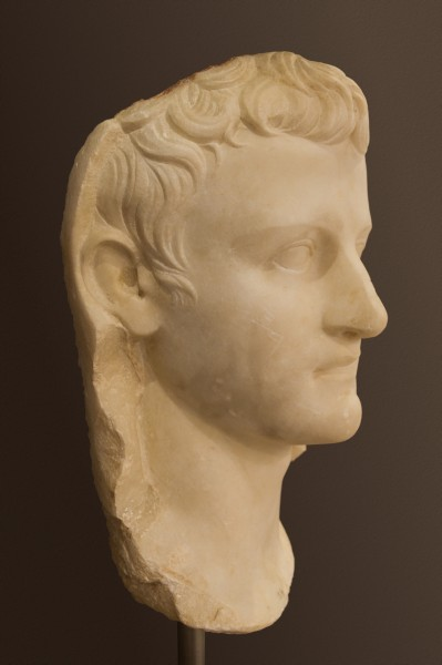Caligula head archmus Heraklion