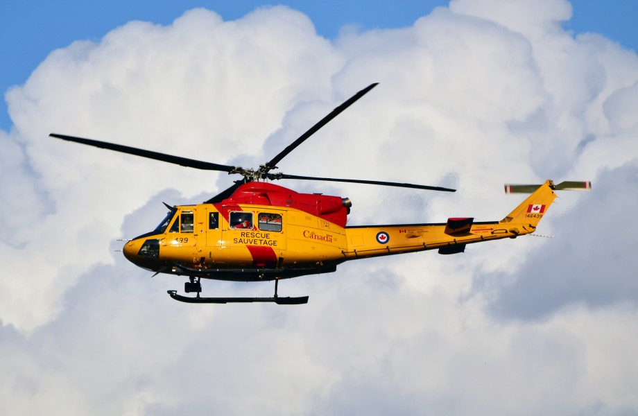 Canadian forces helicopter 2012