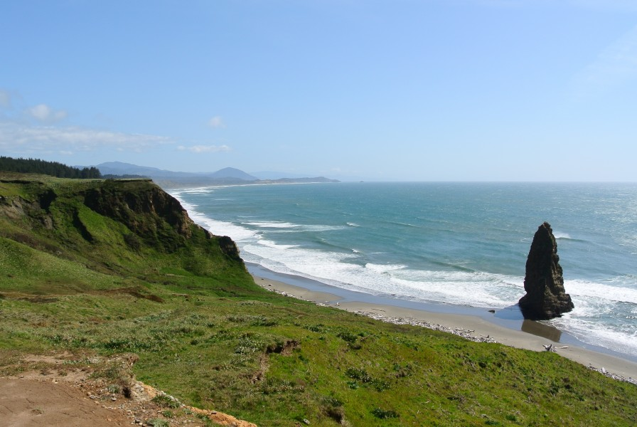 Cape Blanco looking south