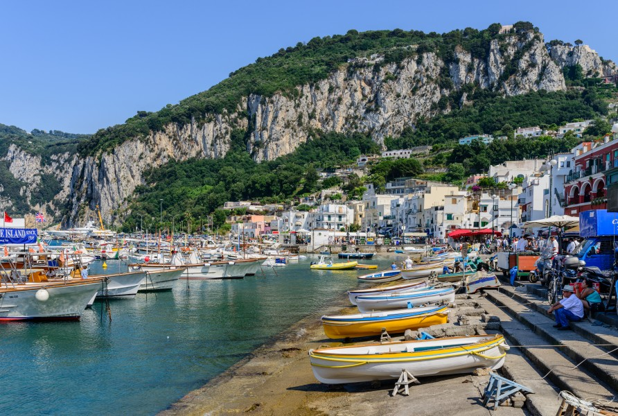 Capri island - Campania - Italy - July 12th 2013 - 16