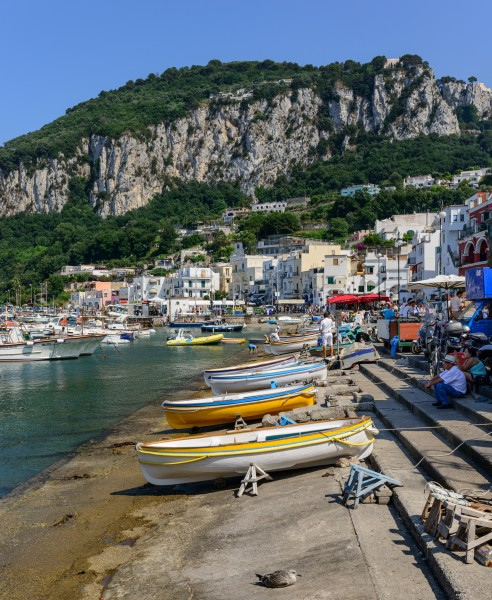 Capri island - Campania - Italy - July 12th 2013 - 17