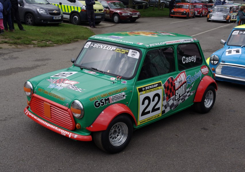 Castle Combe Circuit MMB H2 Mini 7s and Miglia Championship