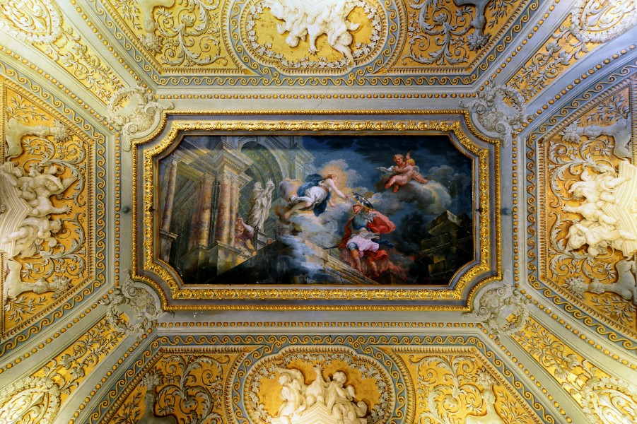 Ceiling in Galleria Doria Pamphilj (Roma)