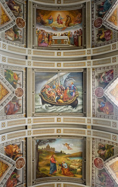 Ceiling of Sant'Andrea of Subiaco