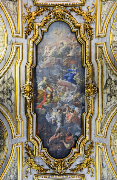 Ceiling of Santa Croce in Gerusalemme (Roma)