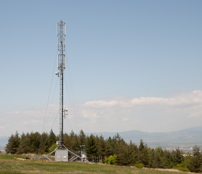 Cell phone tower Lozen