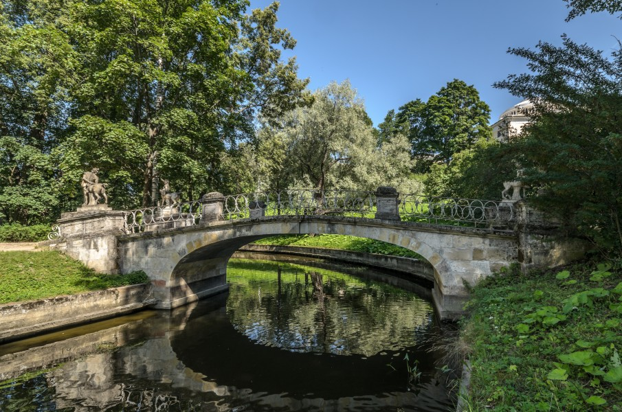 Centaurs Bridge in Pavlovsk Park 01