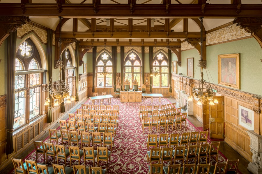 Chester Town Hall Council Chamber