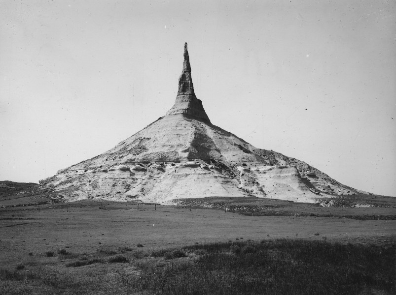 Chimney Rock, Nebraska - NARA - 294354