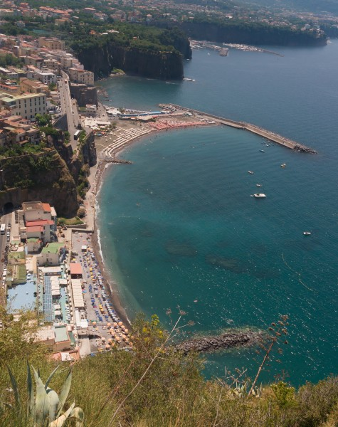 Coast Sorrento Sant'Agnello Gulf Naples