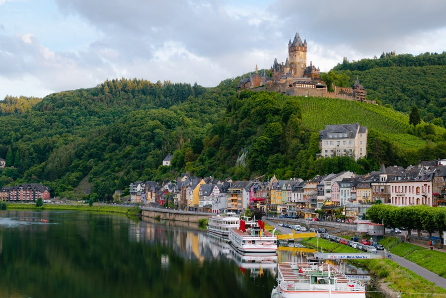 Cochem and Reichsburg
