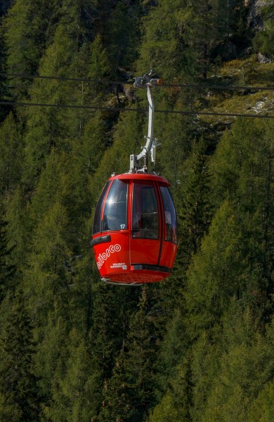 Colfosco - Plans aerial lift - gondola