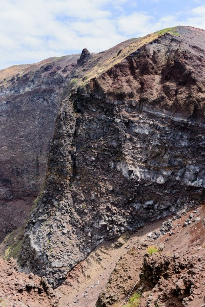 Crater rim volcano Vesuvius - Campania - Italy - July 9th 2013 - 27