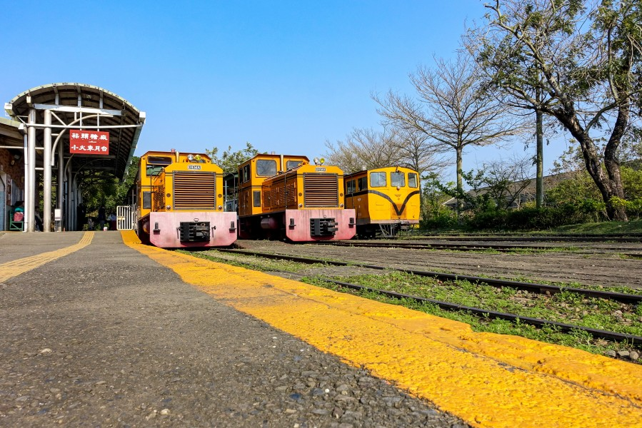 DIEMA locomotives at the Chiayi Suantou Zhecheng Cultural Park (Taiwan)