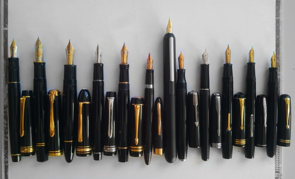 Different fountain pens