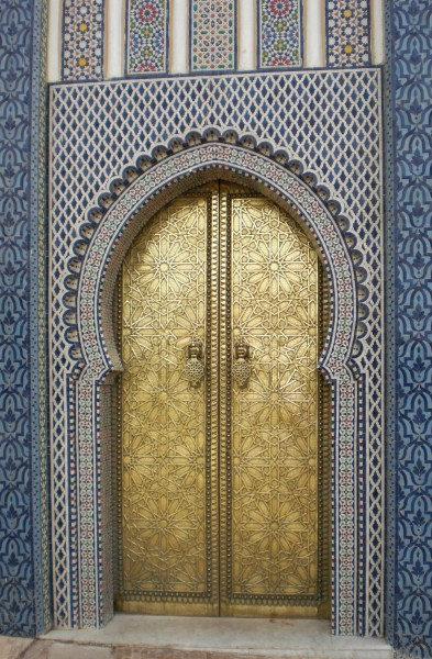 Door in Morocco, 2010