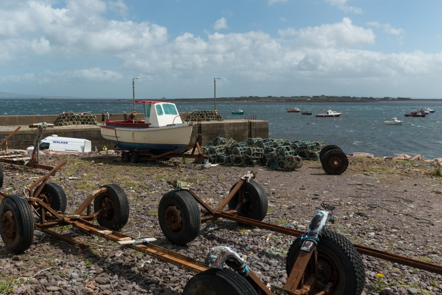 Fahamore Harbour, Kerry 20150803 2